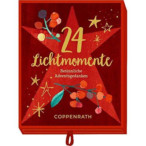 - Schachtel - 24 Lichtmomente: Besinnliche Adventsgedanken - Preis vom 07.03.2021 06:00:26 h