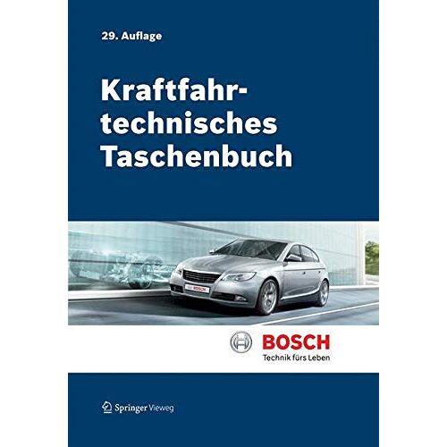 Bosch Kraftfahrtechnisches Taschenbuch - Preis vom 01.12.2019 05:56:03 h