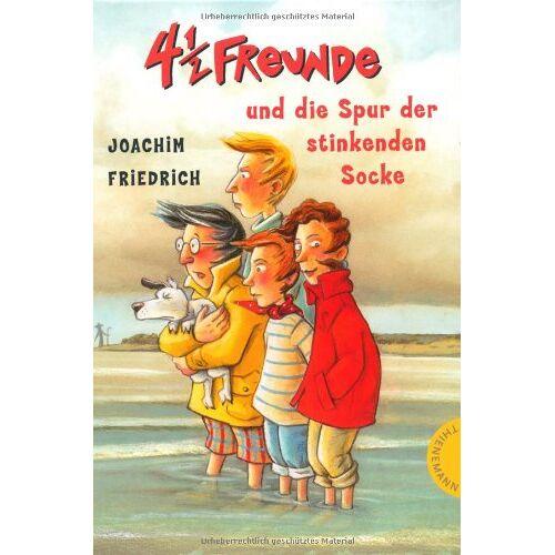 Joachim Friedrich - 4 1/2 Freunde, Band 12: 4 1/2 Freunde und die Spur der stinkenden Socke - Preis vom 06.05.2021 04:54:26 h