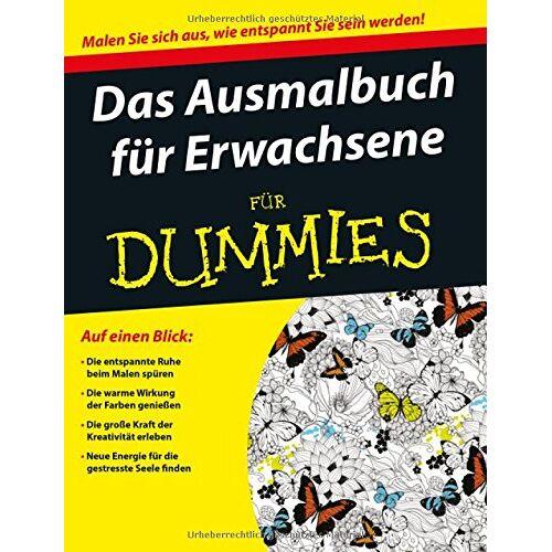 Wiley-VCH - Ausmalbuch für Erwachsene für Dummies - Preis vom 01.12.2019 05:56:03 h
