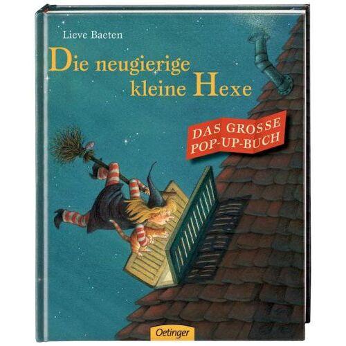 Lieve Baeten - Die neugierige kleine Hexe - Das große Pop-up-Buch - Preis vom 28.03.2020 05:56:53 h