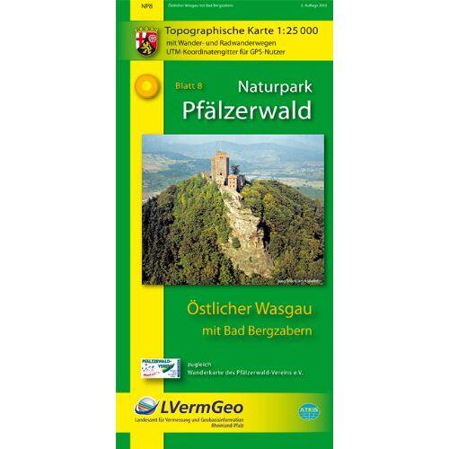 - Naturpark Pfälzerwald /Östlicher Wasgau mit Bad Bergzabern (WR): Naturparkkarte 1:25000 mit Wander- und Radwanderwegen - Preis vom 18.04.2021 04:52:10 h