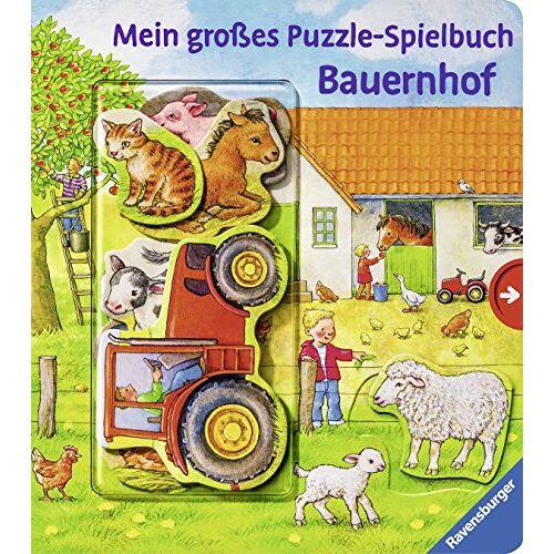 - Mein großes Puzzle-Spielbuch Bauernhof - Preis vom 02.03.2021 06:01:48 h