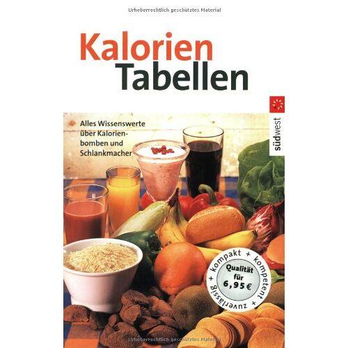 - Kalorientabellen - Preis vom 05.09.2020 04:49:05 h