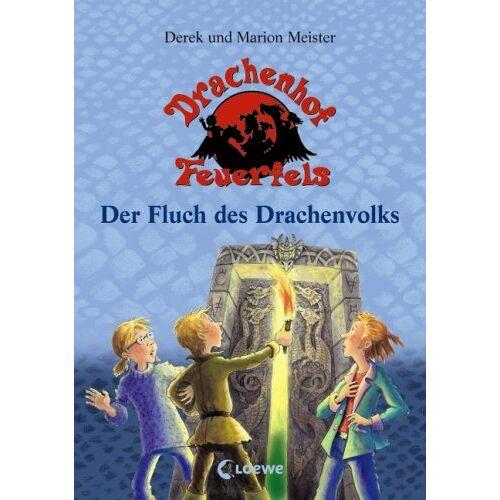 Derek Meister - Drachenhof Feuerfels Band 3 - Der Fluch des Drachenvolks - Preis vom 03.12.2020 05:57:36 h