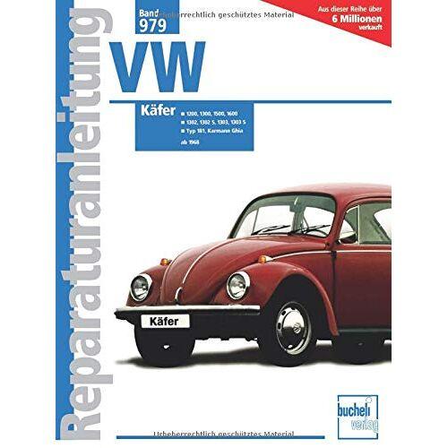- VW Käfer (Reparaturanleitungen) - Preis vom 06.03.2021 05:55:44 h