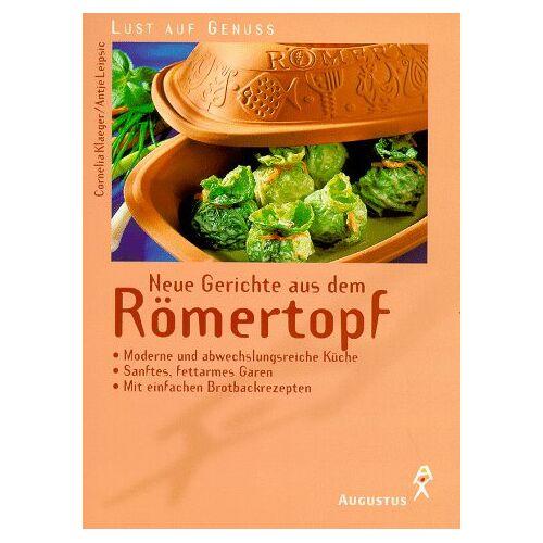 Cornelia Klaeger - Neue Gerichte aus dem Römertopf - Preis vom 03.09.2020 04:54:11 h