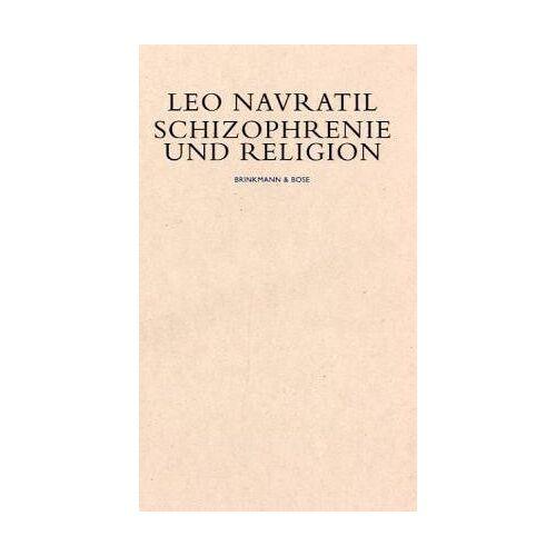 Leo Navratil - Schizophrenie und Religion - Preis vom 10.05.2021 04:48:42 h