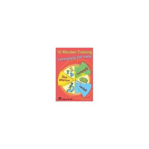 Marilyn Evans - 10-Minuten-Training - Lernspiele für viele. Deutsch - Mathematik - Sachunterricht. (Lernmaterialien) - Preis vom 07.05.2021 04:52:30 h