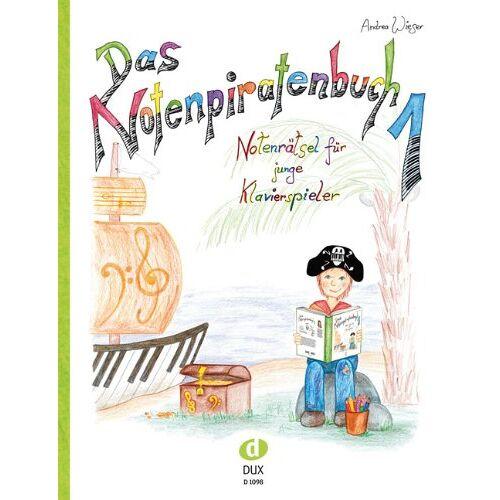 Andrea Wieser - Das Notenpiratenbuch: Notenrätsel für junge Klavierspieler - Preis vom 28.03.2020 05:56:53 h