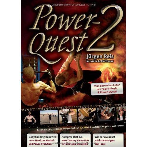 Jürgen Reis - Power-Quest 2: Bodybuilding Renewed - Kämpfer-Diät 2.0 - Winners Mindset: 5 - Preis vom 13.05.2021 04:51:36 h