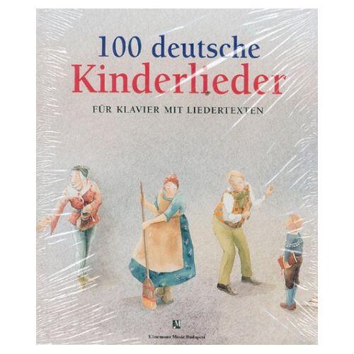 - 100 Deutsche Kinderlieder. Für Klavier mit Liedertexten - Preis vom 21.10.2020 04:49:09 h