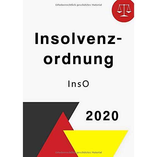 Gesetz Buch - Insolvenzordnung 2020: InsO - Preis vom 18.04.2021 04:52:10 h