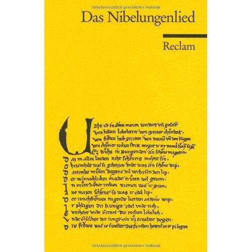 - Das Nibelungenlied - Preis vom 05.05.2021 04:54:13 h