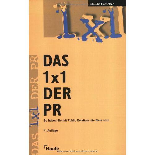Claudia Cornelsen - Das 1x1 der PR - Preis vom 21.10.2020 04:49:09 h