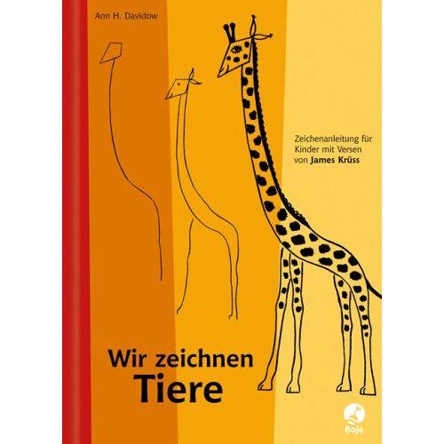 James Krüss - Wir zeichnen Tiere - Preis vom 05.04.2020 05:00:47 h