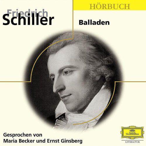 Friedrich Schiller - Friedrich Schiller: Balladen (Eloquence Hörbuch) - Preis vom 25.02.2021 06:08:03 h