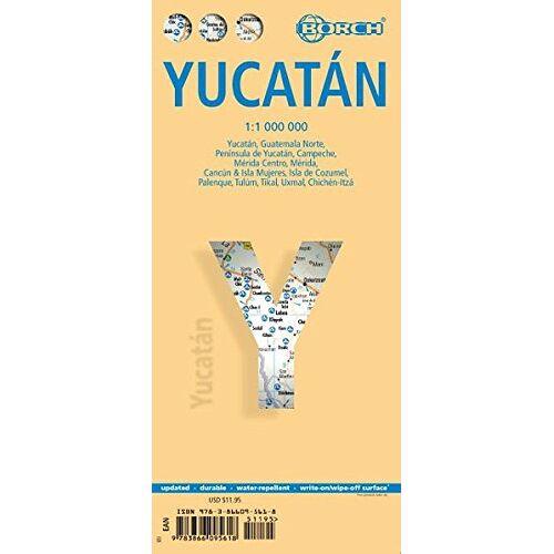 Borch GmbH - Yukatan: 1:1 000 000 (Borch Maps) - Preis vom 20.10.2020 04:55:35 h