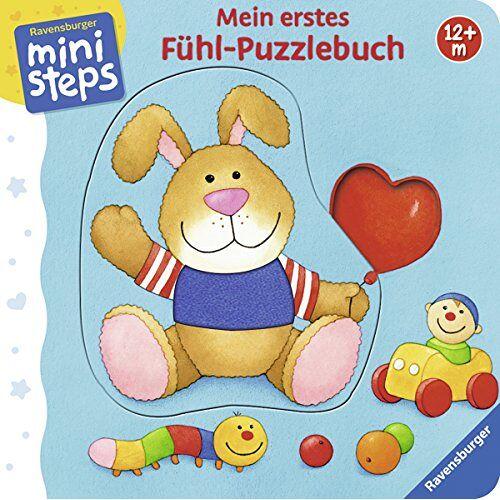 Sabine Cuno - Mein erstes Fühl-Puzzlebuch: Ab 12 Monaten (ministeps Bücher) - Preis vom 10.04.2021 04:53:14 h