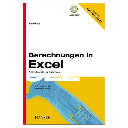 René Martin - Berechnungen in Excel - Preis vom 04.09.2020 04:54:27 h