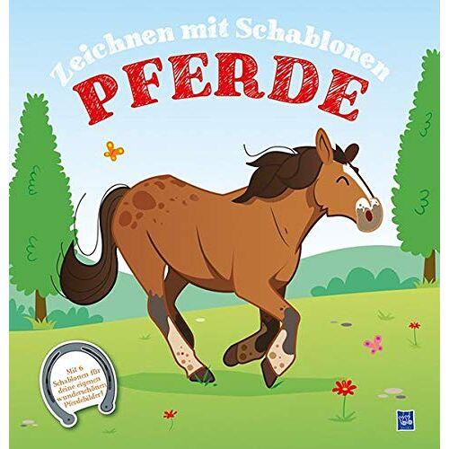 - Zeichnen mit Schablonen - Pferde: Mit sechs Schablonen für deine eigenen Bilder - Preis vom 14.04.2021 04:53:30 h