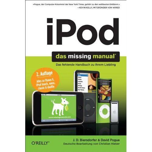 Biersdorfer, J. D. - iPod Missing Manual - Preis vom 20.10.2020 04:55:35 h