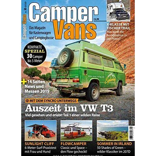 CamperVans - CamperVans 2/2019 Auszeit im VW T3 - Preis vom 10.04.2021 04:53:14 h