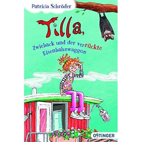 Patricia Schröder - Tilla, Zwieback und der verrückte Eisenbahnwaggon - Preis vom 21.01.2021 06:07:38 h