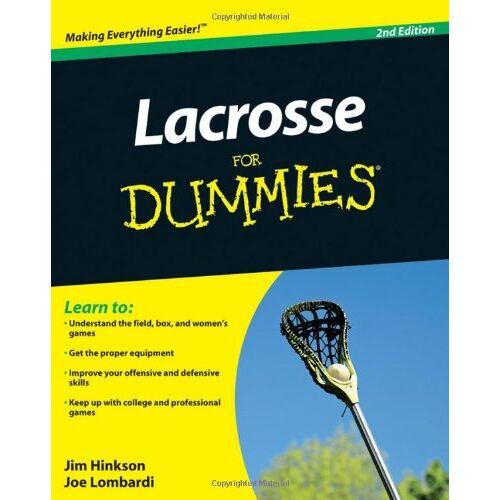 Hinkson - Lacrosse For Dummies - Preis vom 05.05.2021 04:54:13 h