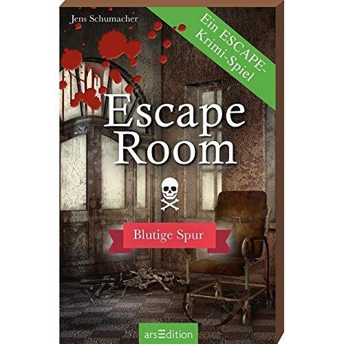 Jens Schumacher - Escape Room - Blutige Spur - Preis vom 10.04.2021 04:53:14 h