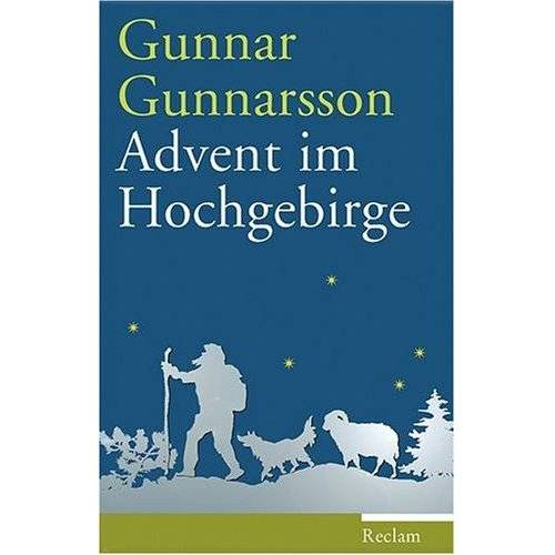 Gunnar Gunnarsson - Advent im Hochgebirge: Erzählung - Preis vom 09.05.2021 04:52:39 h