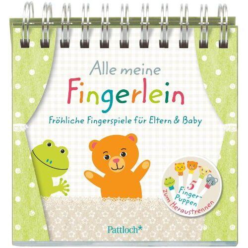 - Alle meine Fingerlein: Fröhliche Fingerspiele für Eltern & Baby - Preis vom 09.04.2021 04:50:04 h