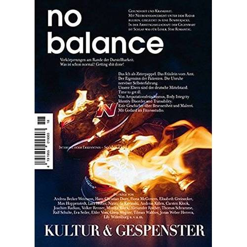 Becker Kultur & Gespenster / Kultur & Gespenster Nr. 18 »NO BALANCE« (Kultur und Gespenster) - Preis vom 26.02.2021 06:01:53 h