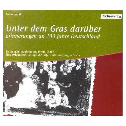 Inge Kurtz - Unter dem Gras darüber. Audiobook. 13 CDs. - Preis vom 27.02.2021 06:04:24 h