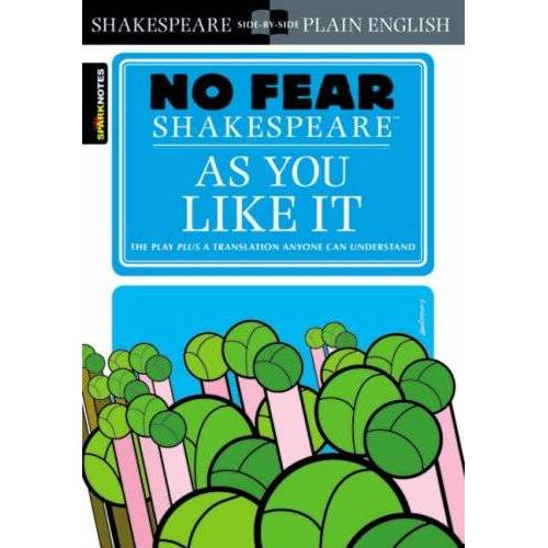 Shakespeare No Fear Shakespeare: As You Like It (Sparknotes No Fear Shakespeare) - Preis vom 05.03.2021 05:56:49 h