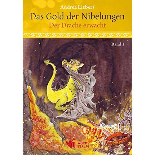 Andrea Liebers - Das Gold der Nibelungen, Band 1: Der Drache erwacht - Preis vom 06.09.2020 04:54:28 h
