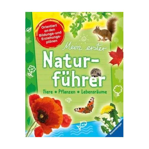 Angelika Lenz - Mein erster Naturführer: Tiere, Pflanzen, Lebensräume - Preis vom 04.09.2020 04:54:27 h
