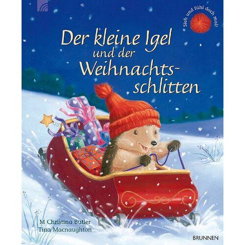 Butler, M. Christina - Der kleine Igel und der Weihnachtsschlitten - Preis vom 06.04.2021 04:49:59 h