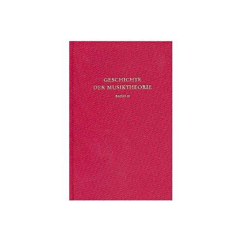 Ertelt, Thomas F - Geschichte der Musiktheorie, Bd.10, Die Musiktheorie im 18. und 19. Jahrhundert - Preis vom 21.10.2020 04:49:09 h