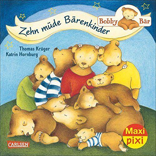 - Maxi-Pixi Nr. 182: Bobby Bär: Zehn müde Bärenkinder - Preis vom 27.02.2021 06:04:24 h