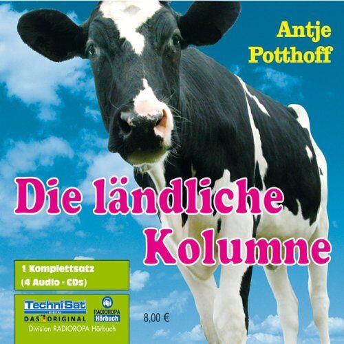 Antje Potthoff - Die ländliche Kolumne. 4 CDs - Preis vom 20.10.2020 04:55:35 h