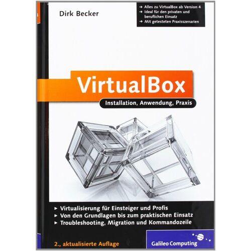 Becker VirtualBox: Installation, Anwendung, Praxis (Galileo Computing) - Preis vom 20.10.2020 04:55:35 h