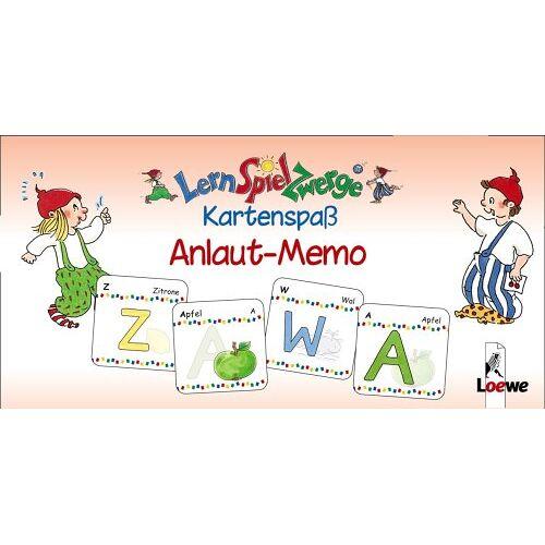 Kristin Labuch - LernSpielZwerge Kartenspaß: Anlaut-Memo (48 Spielkarten) - Preis vom 06.05.2021 04:54:26 h