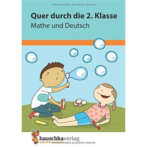Andrea Guckel - Quer durch die 2. Klasse, Mathe und Deutsch - Übungsblock (Lernspaß Übungsblöcke, Band 662) - Preis vom 06.05.2021 04:54:26 h