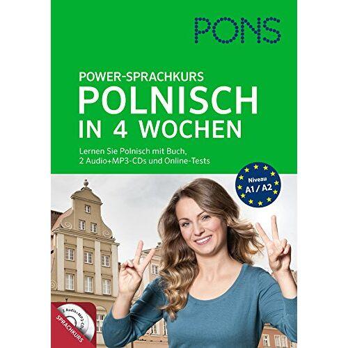 - PONS Power-Sprachkurs Polnisch in 4 Wochen: Lernen Sie Polnisch mit Buch, 2 Audio+MP3-CDs und Online-Tests - Preis vom 22.04.2021 04:50:21 h