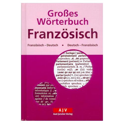 - Großes Wörterbuch Französisch. Französisch - Deutsch / Deutsch - Französisch - Preis vom 06.05.2021 04:54:26 h