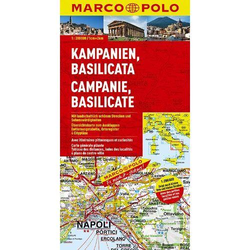 Marco Polo - MARCO POLO Karte Kampanien, Basilicata (Marco Polo Maps) - Preis vom 13.04.2021 04:49:48 h