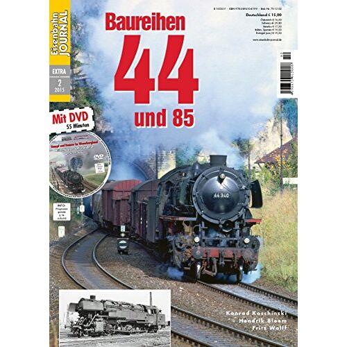 Konrad Koschinski - Baureihen 44 und 85 - mit Video-DVD - Eisenbahn Journal Extra-Ausgabe 2-2015 - Preis vom 25.09.2020 04:48:35 h