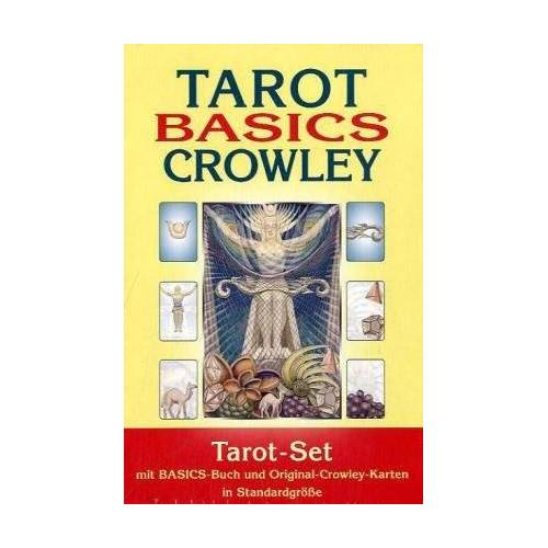 Johannes Fiebig - Tarot Basics: Crowley Tarot. Set mit Buch + 78 Crowley Tarotkarten im Standardformat - Preis vom 05.09.2020 04:49:05 h