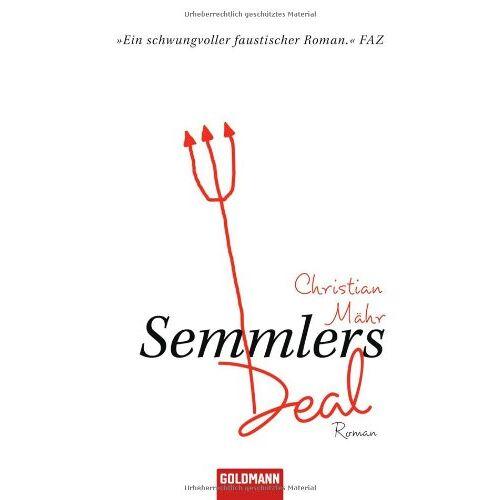 Christian Mähr - Semmlers Deal: Roman - Preis vom 20.10.2020 04:55:35 h